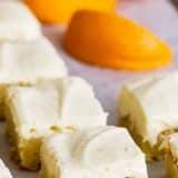 How to Make Orange Blondies