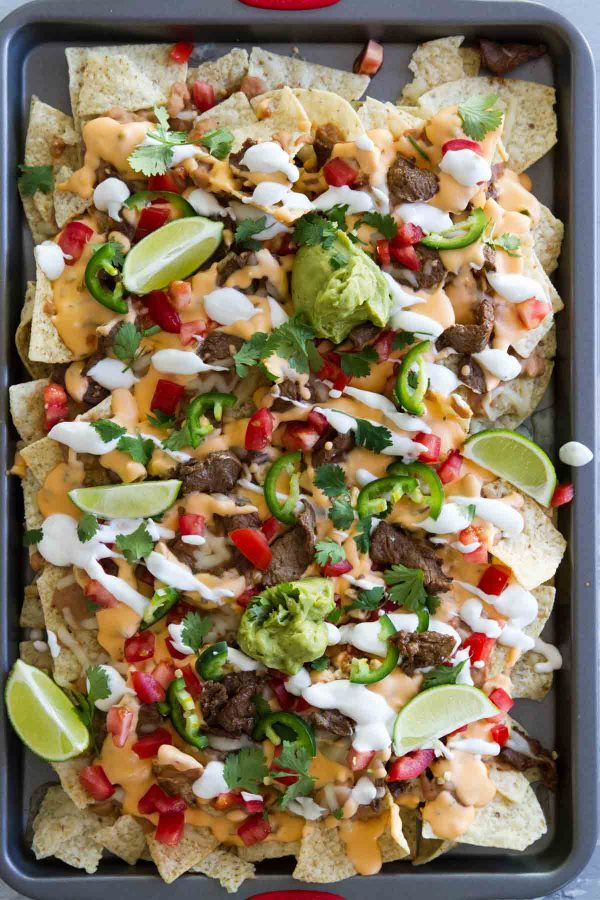 What to put on nachos supreme