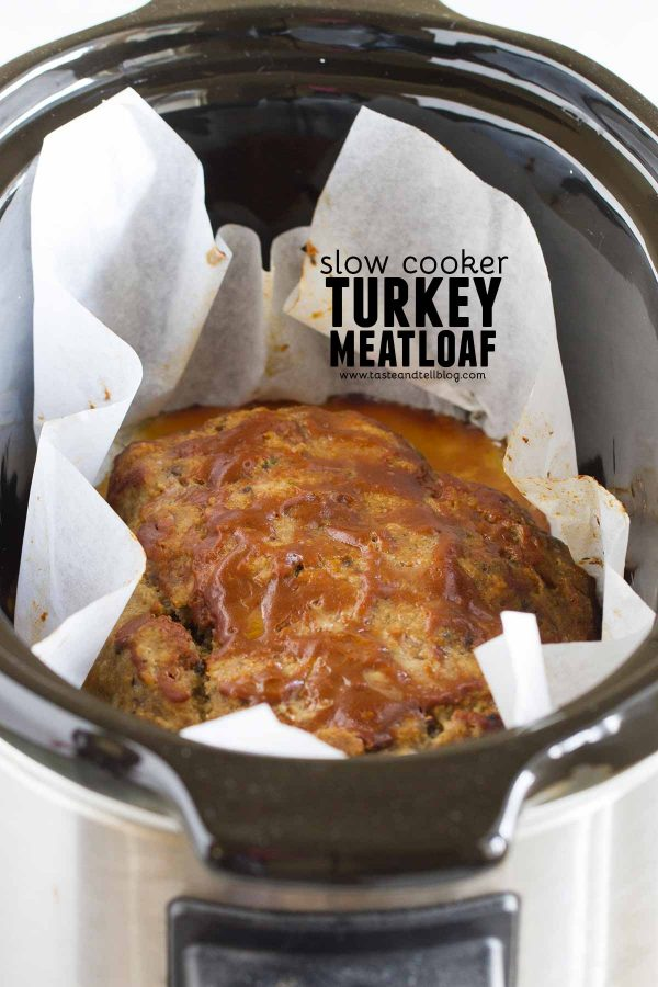 Slow Cooker Turkey Meatloaf Recipe