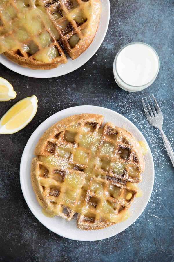 Easy Gingerbread Waffle Recipe
