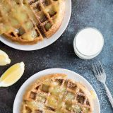 How to make Gingerbread Waffle Recipe with Lemon Sauce