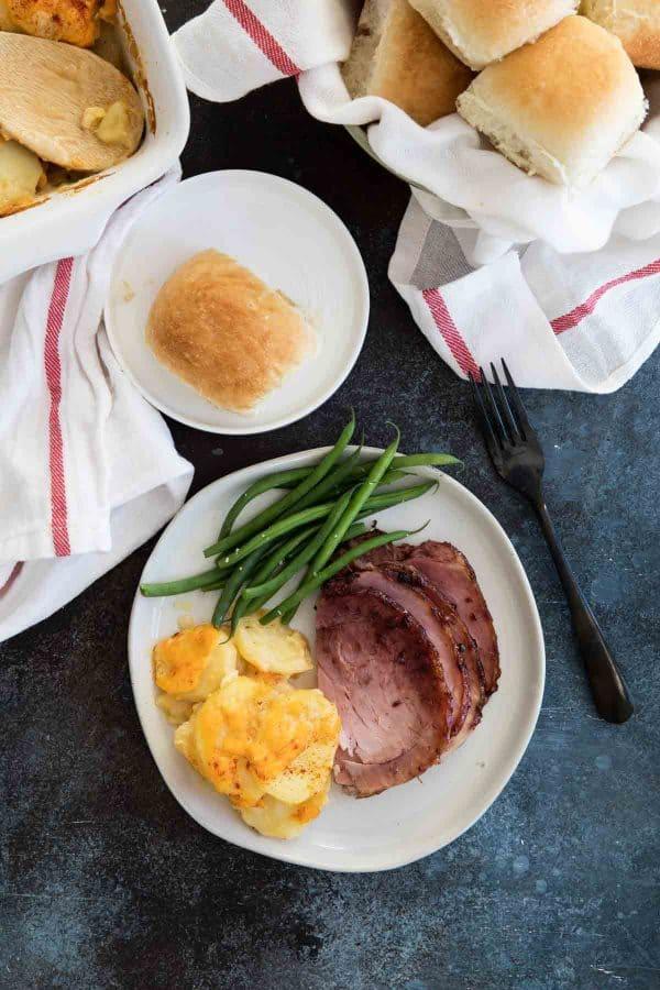 Baked Ham recipe for holiday dinner