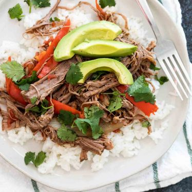 Slow Cooker Cuban Ropa Vieja