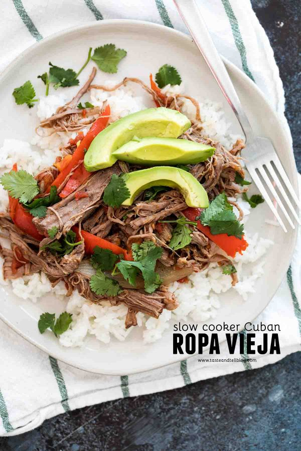 Slow Cooker Cuban Ropa Vieja Recipe