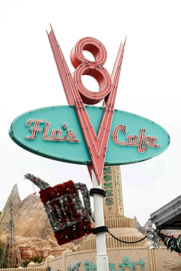 Flos V8 Cafe - Disney California Adventure