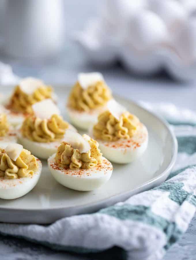 Caesar Deviled Eggs Recipe