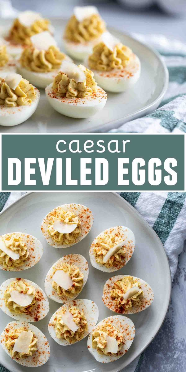 Caesar Deviled Eggs Recipe