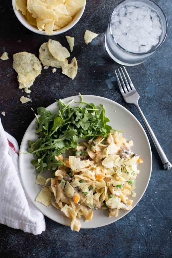 Pressure Cooker Tuna Noodle Casserole Recipe