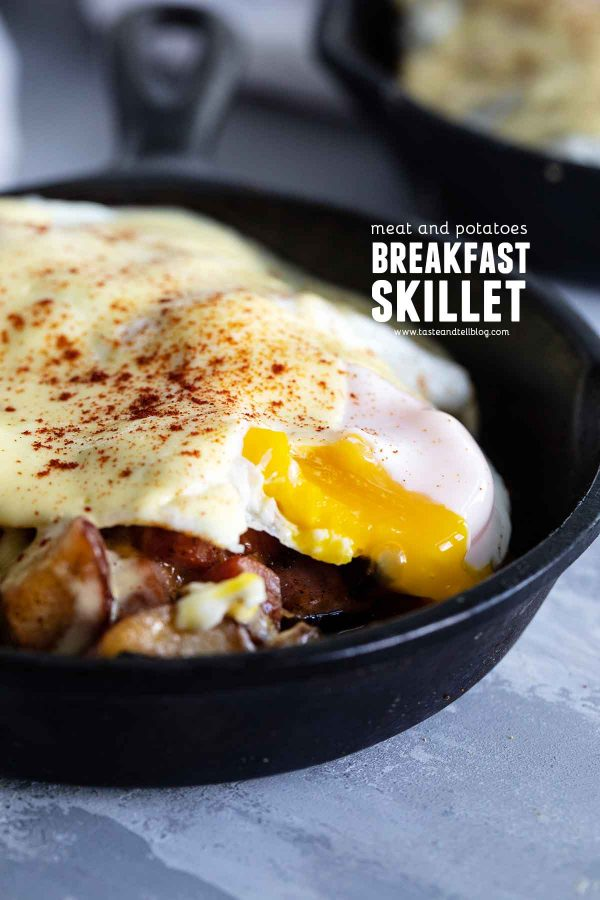 Meat and Potatoes Breakfast Skillet