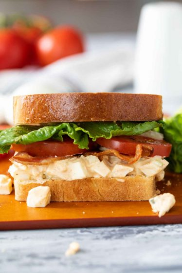 Easy Egg Salad BLT Recipe