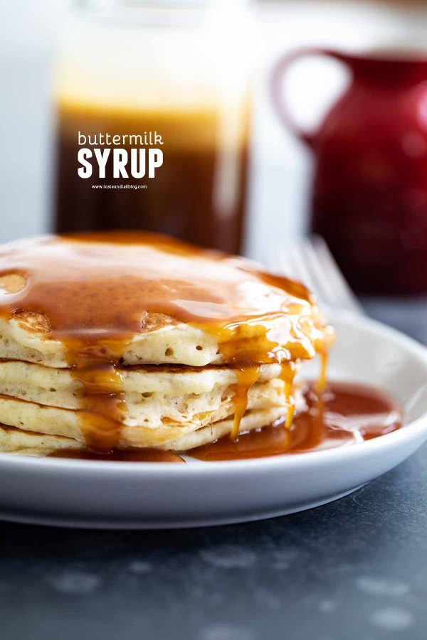 Homemade Buttermilk Syrup Recipe