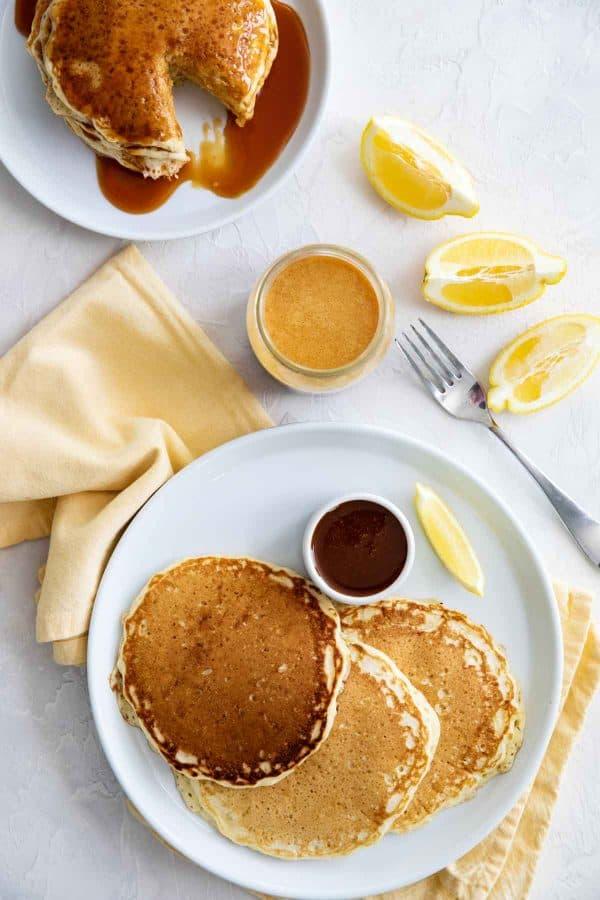 Breakfast Recipe - Lemon Pancakes