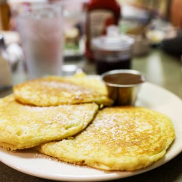 Lemon Pancakes from Lazy Day Cafe