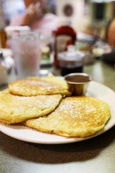 Lemon Pancakes from Lazy Day Cafe