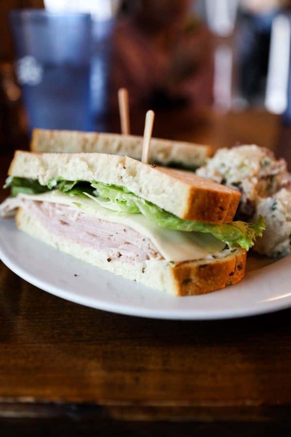 Ham Sandwich from Feldman's Deli