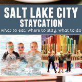 Salt Lake City Staycation - things to do in Salt Lake City