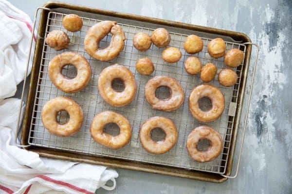 Classic Glazed Cake Donuts