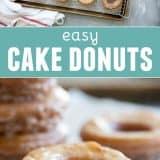 Easy Cake Donut Recipe