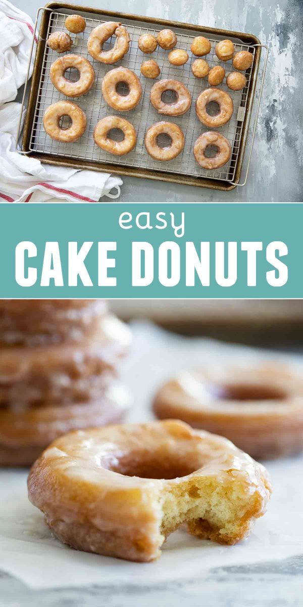 Easy Cake Donut Recipe