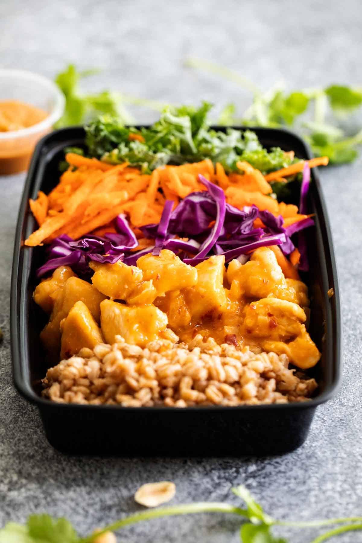 Thai Chicken Buddha Bowl Recipe Taste And Tell