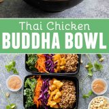 Thai Chicken Buddha Bowl