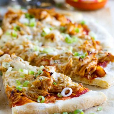 Slice of PIzza with Buffalo Chicken