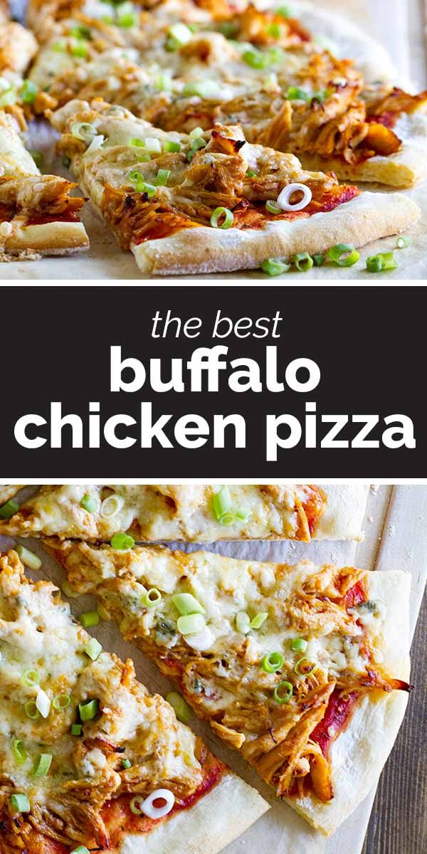 How to Make Buffalo Chicken Pizza