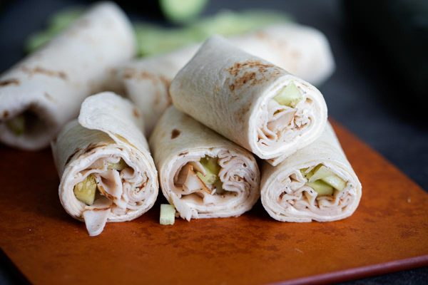 How to make a Cucumber Ranch Turkey Wrap Recipe