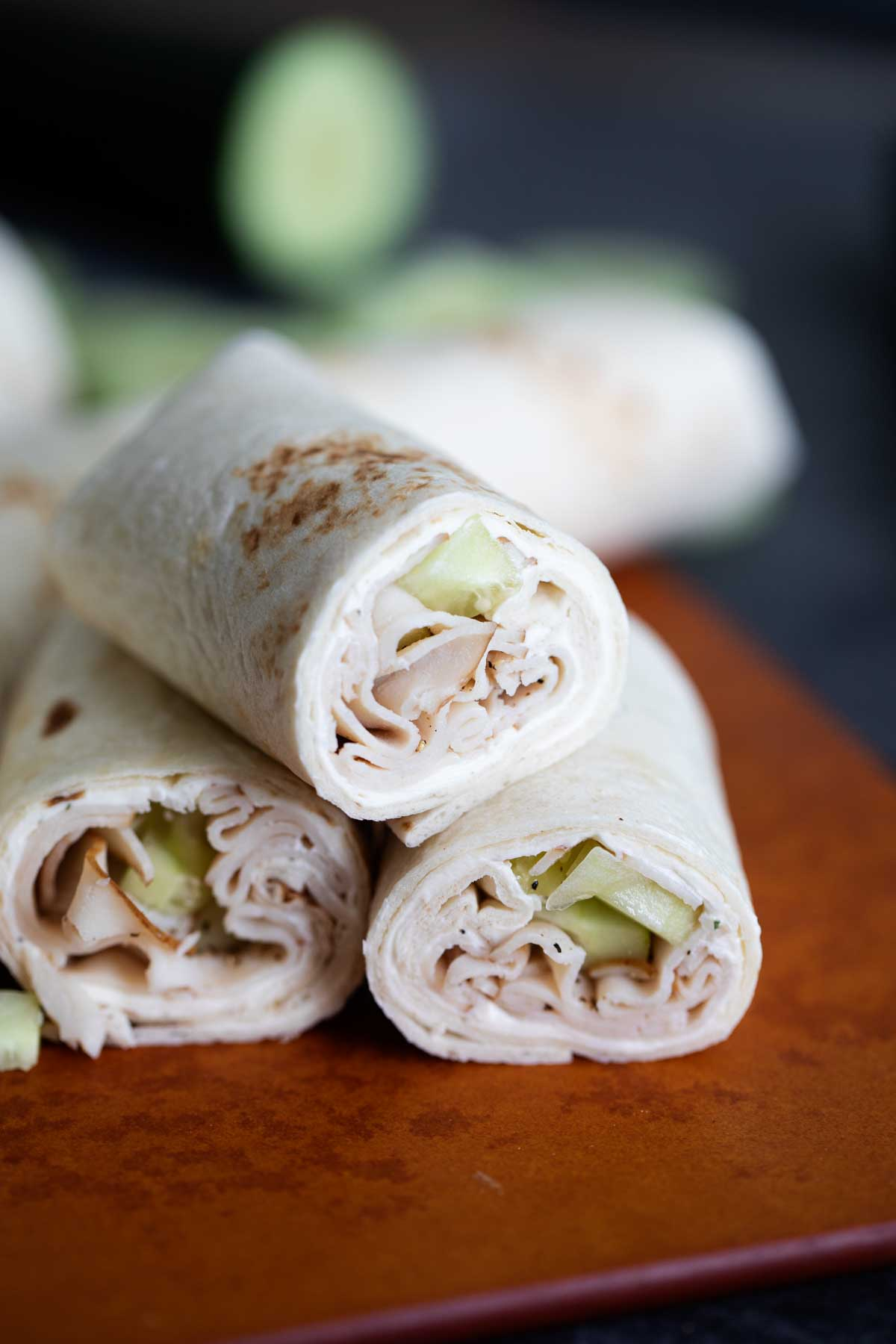 Cucumber Ranch Turkey Tortilla Wrap Recipe Taste And Tell