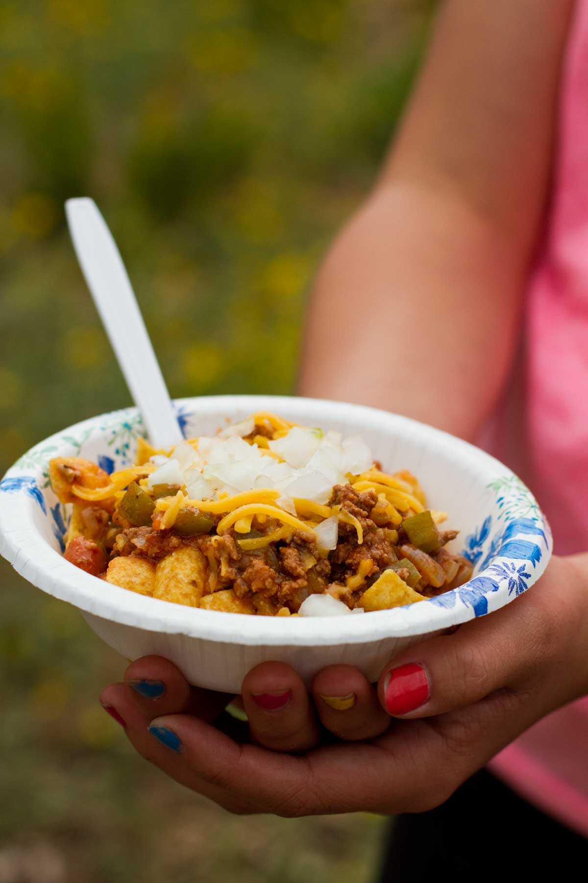 Dutch Oven Frito Pie Camping Recipe Taste And Tell
