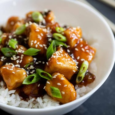 Recipe for General Tso Chicken