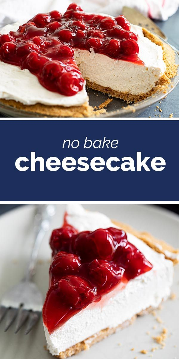 No Bake Cheesecake Recipe - Taste and Tell