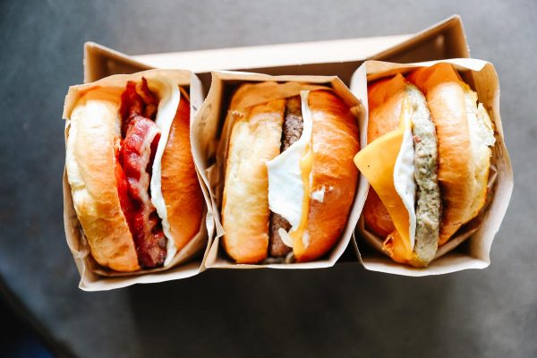 Breakfast Sandwiches from Eggslut