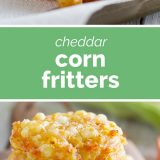 How to Make Cheddar Corn Fritters