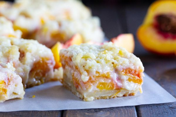 How to Make Peaches and Cream Bars