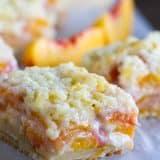 Fresh Peach Dessert