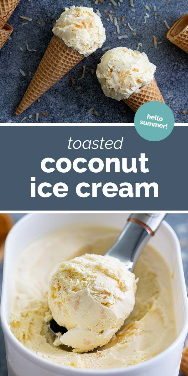 How to make Toasted Coconut Ice Cream