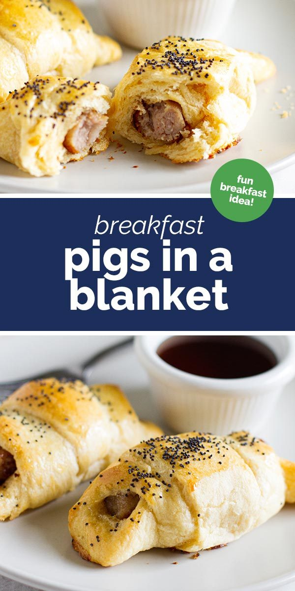 How to Make Breakfast Pigs in a Blanket