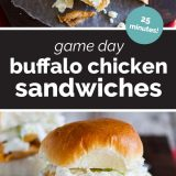 How to Make Buffalo Chicken Sandwiches