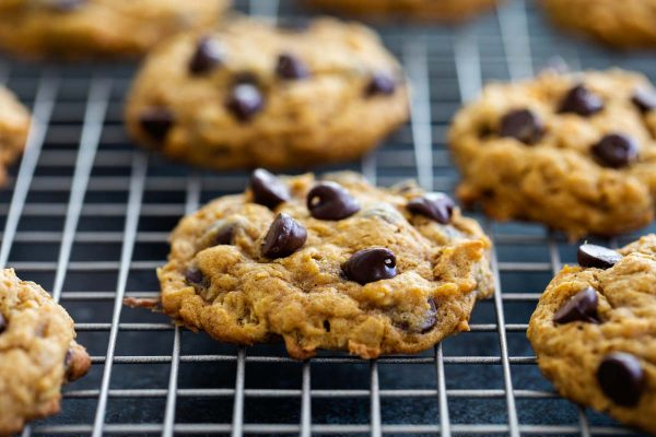 Recipe for Oatmeal Pumpkin Chocolate Chip Cookies