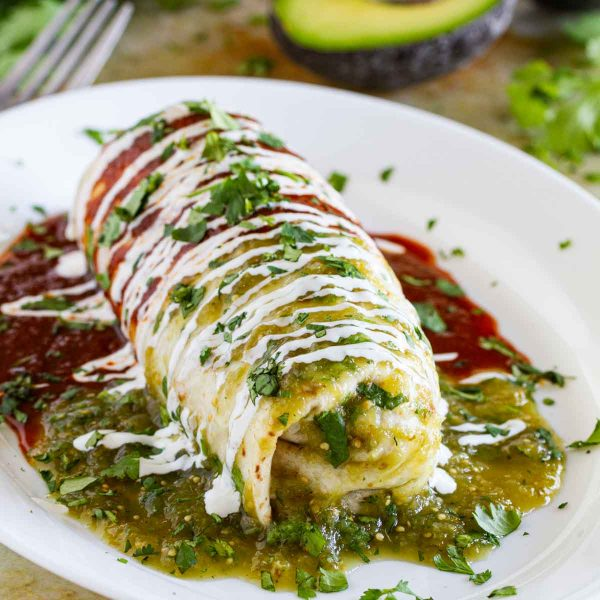 Burrito Recipe with Chicken