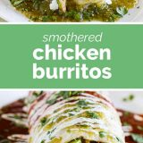 Smothered Chicken Burritos Recipe