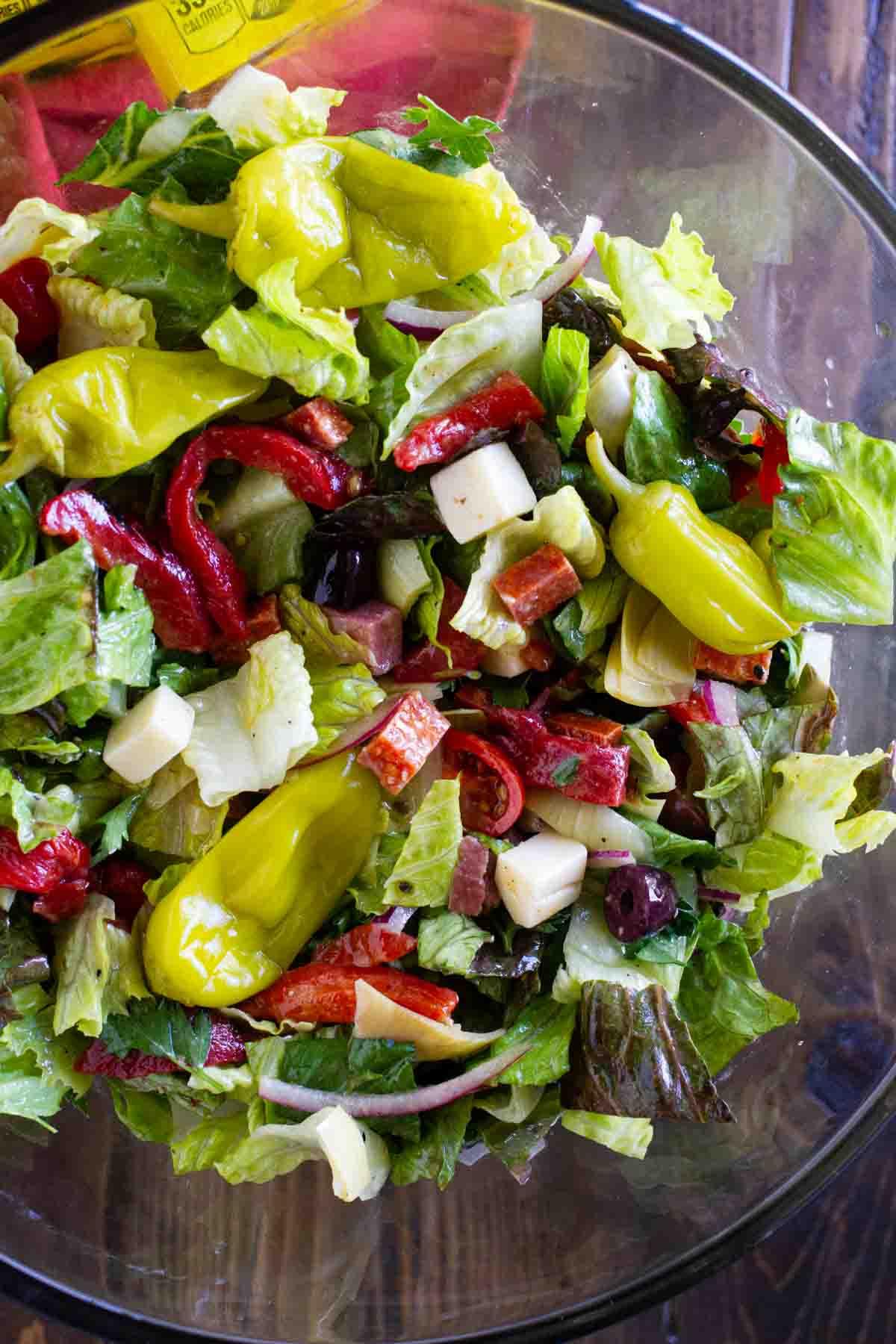 How to Make Antipasto Salad