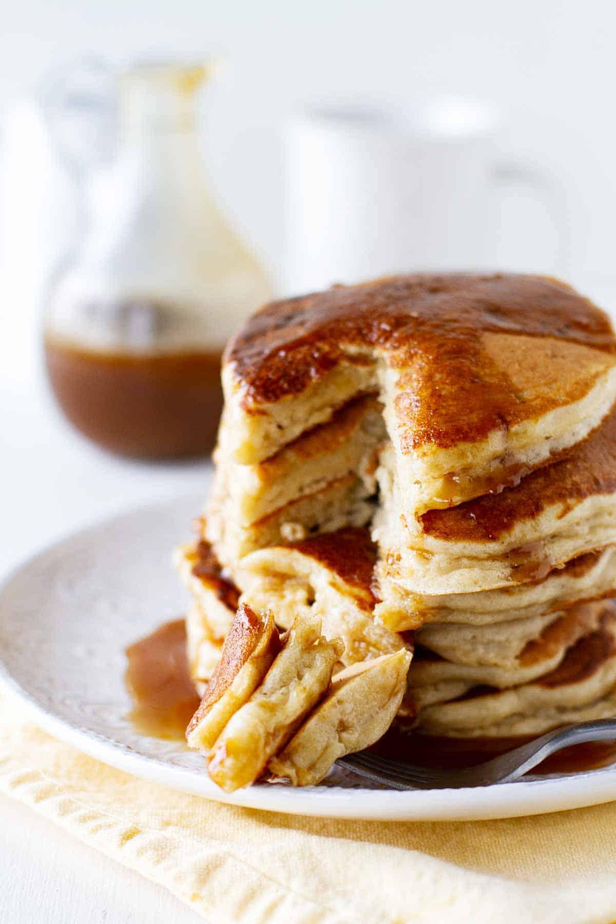 Bite of Apple Pancakes