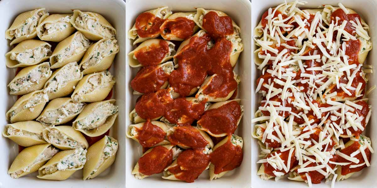 How to Make Chicken Stuffed Shells
