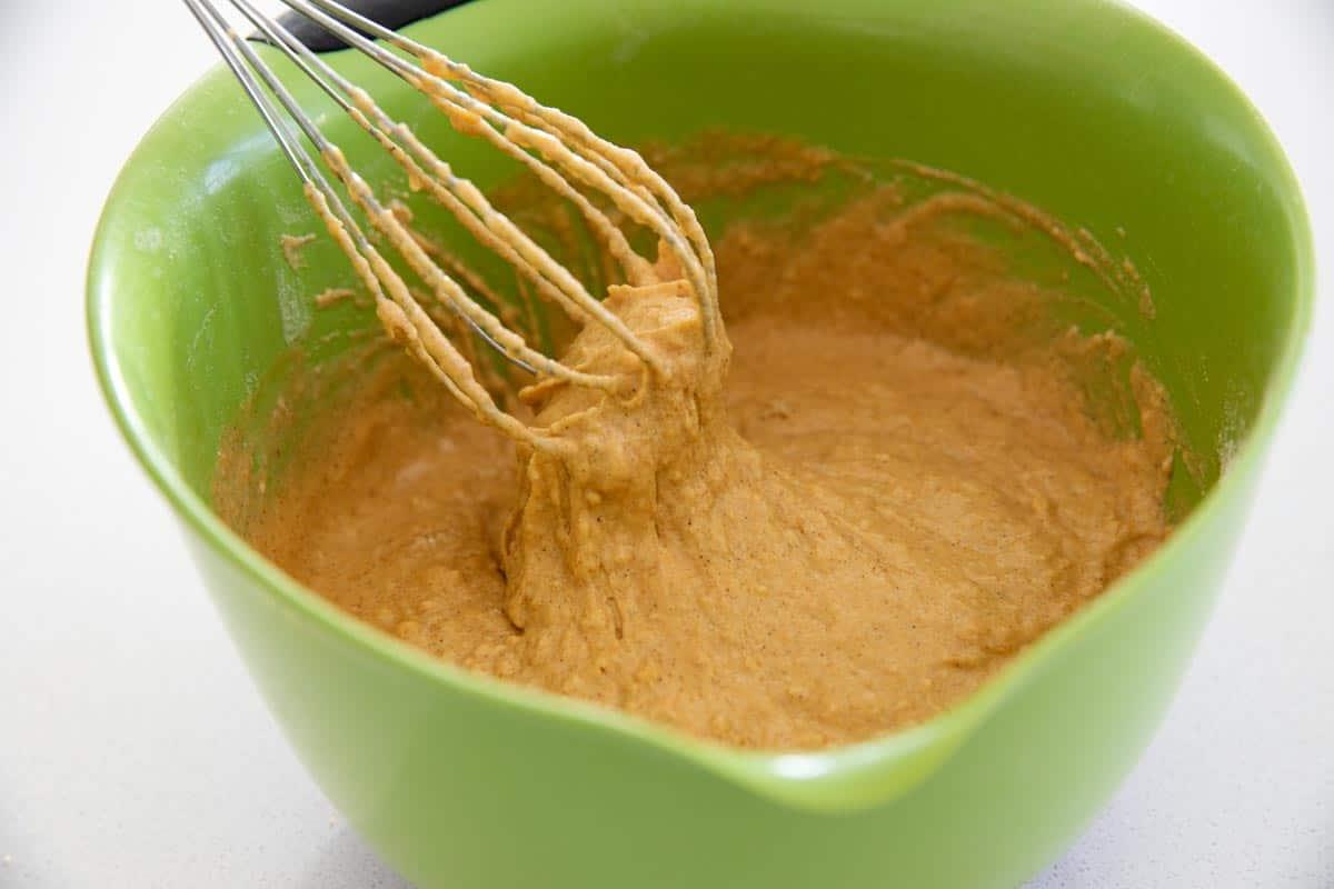 Thickness of Pumpkin Pancake batter