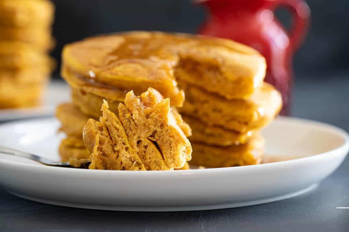 texture of Pumpkin Pancakes