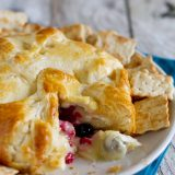 Berry Stuffed Brie en Croute Recipe