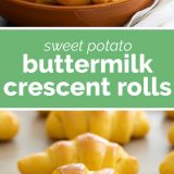 how to make Sweet Potato Buttermilk Crescent Roll Recipe