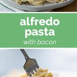 How to Make Alfredo Pasta with Bacon